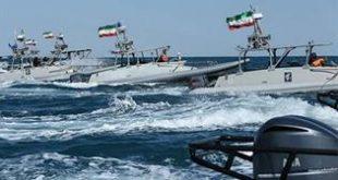 کنترل ناو آمریکایی توسط ۵ قایق سپاه